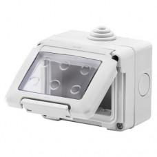 electrice valcea - doza aplicata, aparenta, 3 module, ip55, gewiss - gewiss - gw27043
