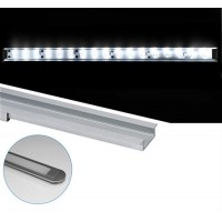 Profil aluminiu,pentru banda LED, ingropat, 1m