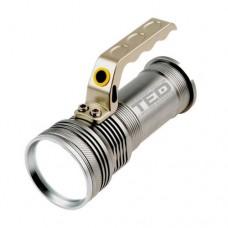 Lanterna metalica LED CREE T6 5W cu 2 acumulatori Li-Ion