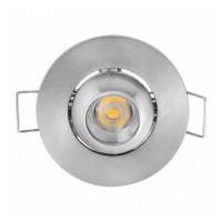 Spot LED Fiona, incastrat, rotund, 1W, 70 lm, 2700/6400 k.